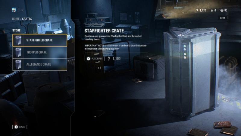 Star Wars: Battlefront 2 - Loot box