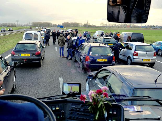 KOZP 'boos en teleurgesteld' (Foto: Kick Out Zwarte Piet)