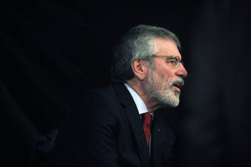 Gerry Adams weg als leider Sinn Fein