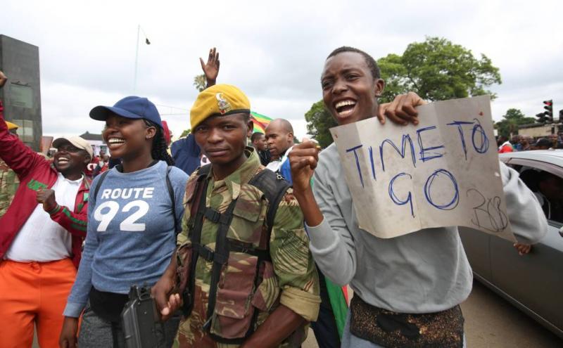 'Mugabe bereid af te treden'