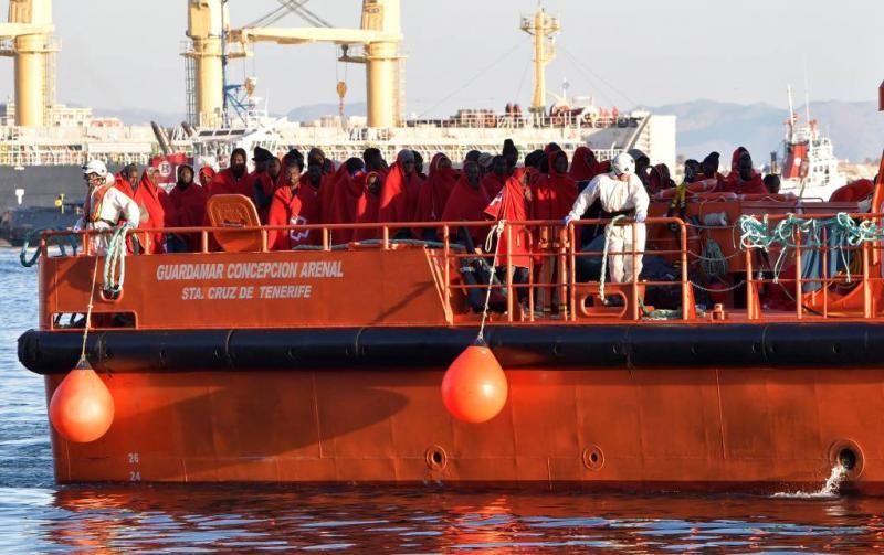 Ruim 500 vluchtelingen bereiken zuiden Spanje
