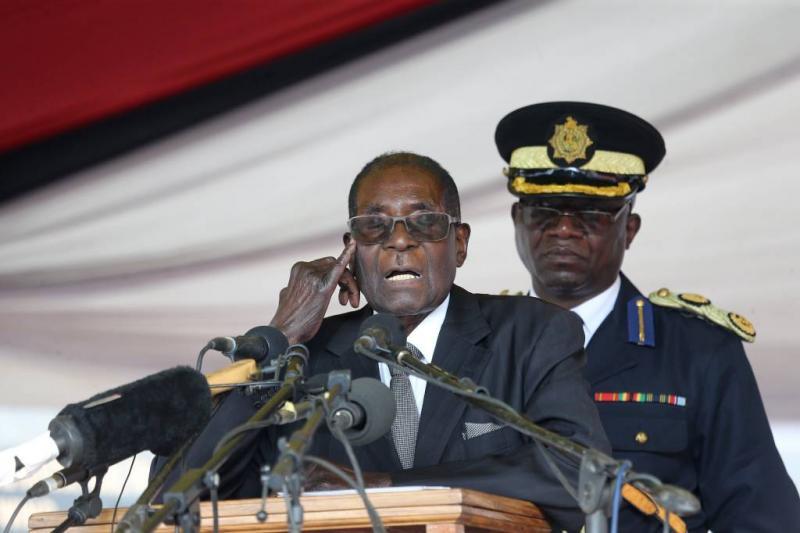 'Mugabe afgezet als leider ZANU-PF'