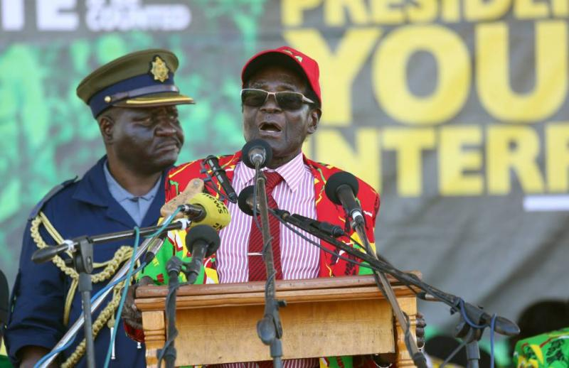 'Mugabe heeft tot maandag om af te treden'