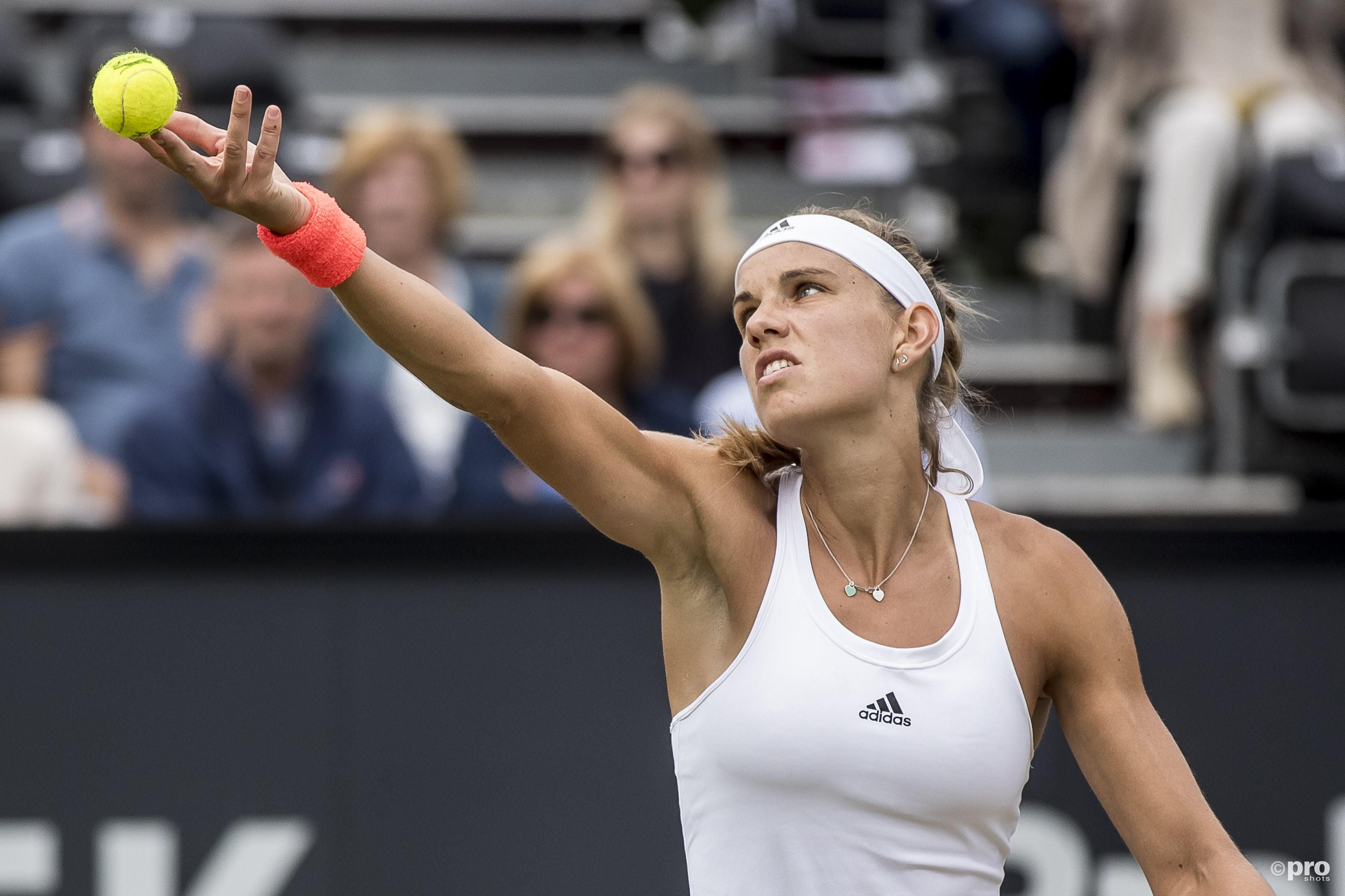 Geen succes voor Rus in eerste WTA-finale. (PRO SHOTS/Joep Leenen)