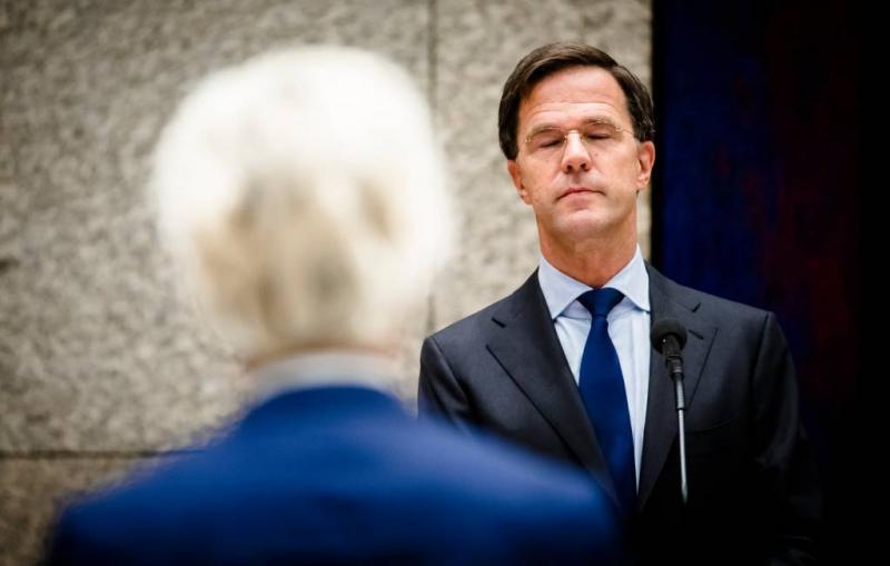 Aangifte Wilders tegen 'discriminerende' Rutte