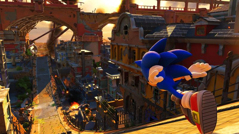 Sonic Forces - Looping in 3D (Foto: SEGA)