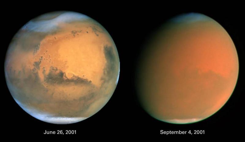'Water op Mars' lijkt zand