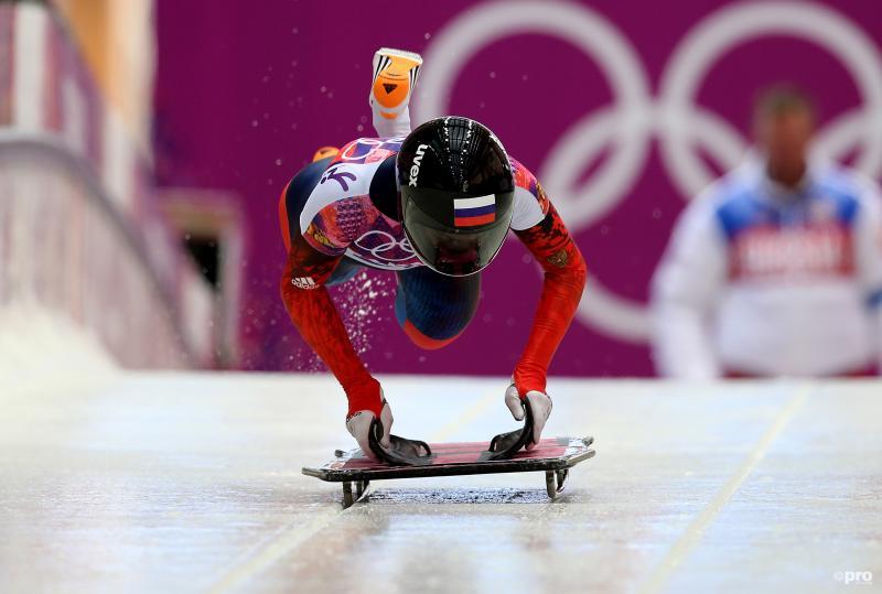 Nikitina tijdens haar olympische race (Pro Shots / Gepa)