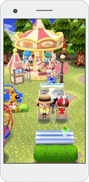 Animal Crossing: Pocket Camp - Merry Go Round (Foto: Nintendo)