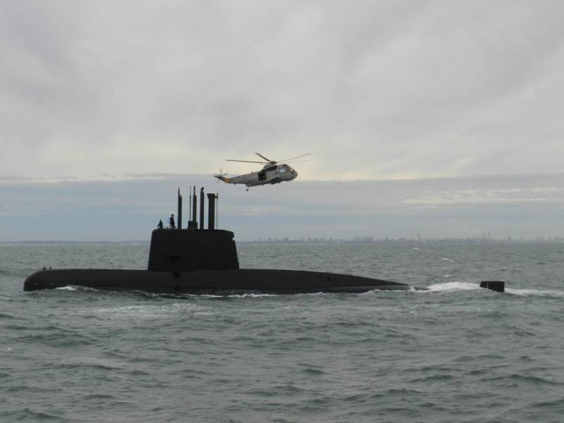 Explosie tijdens verdwijning onderzeeër
