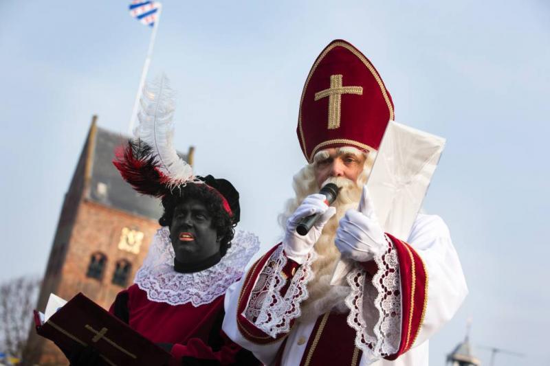 Zwarte Piet-actiegroep valt school binnen