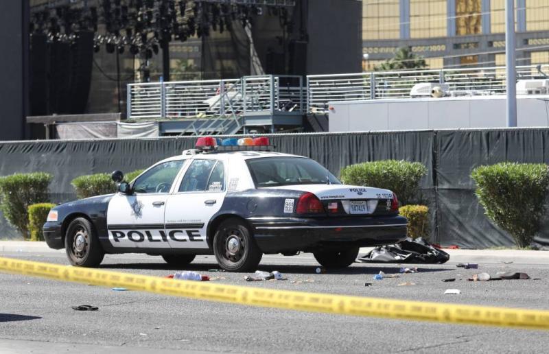 Schutter Las Vegas vuurde ruim 1100 kogels af