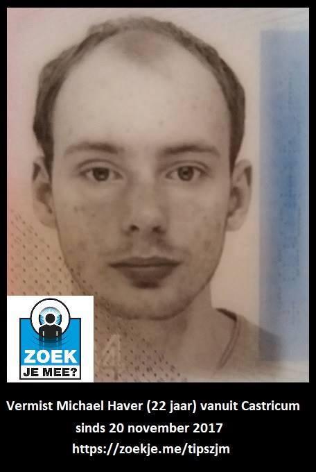 Vermiste man (22) heeft dringend medicatie nodig (Foto: ZoekJeMee)