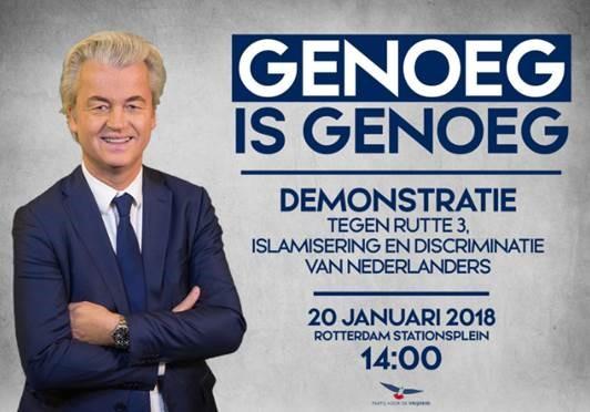 Wilders on tour tegen oplichter Rutte (Foto: PVV)