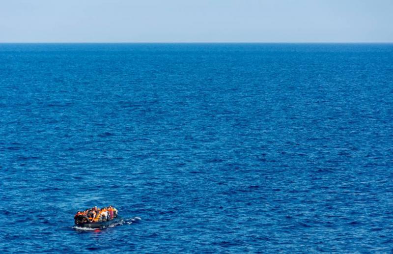 Tientallen migranten verdrinken in zee