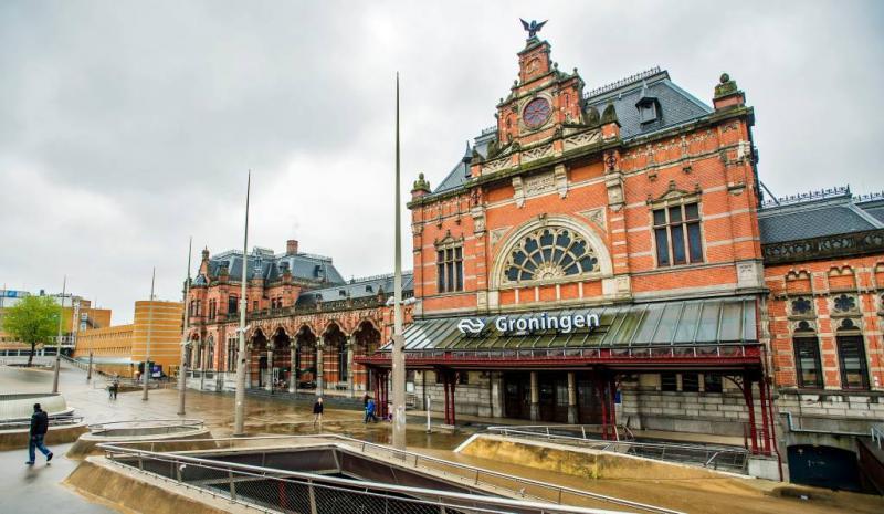 Station Groningen deels ontruimd