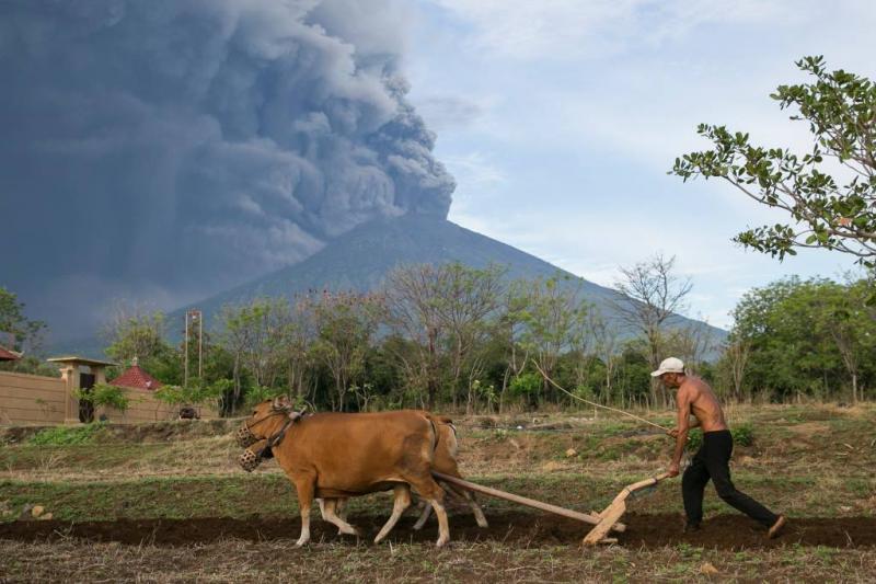Waarschuwingen na eruptie vulkaan Bali