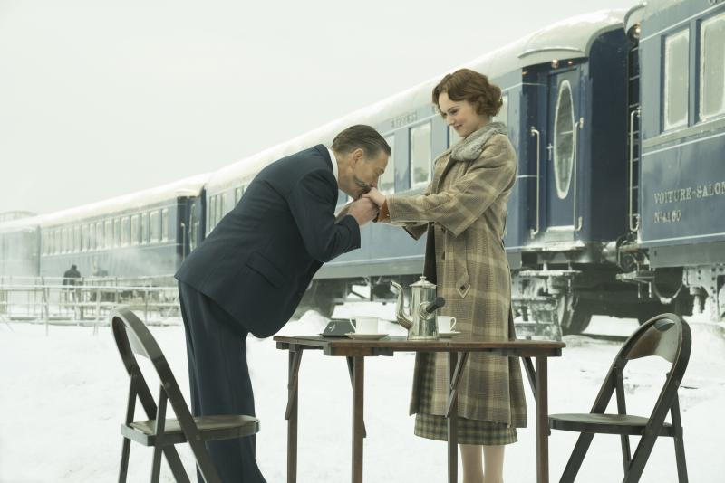 Murder on the Orient Express Branagh en RIdley