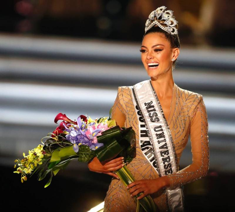 Zuid-Afrikaanse gekroond tot Miss Universe