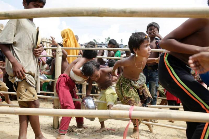 Bangladesh wil Rohingya opvangen op eiland