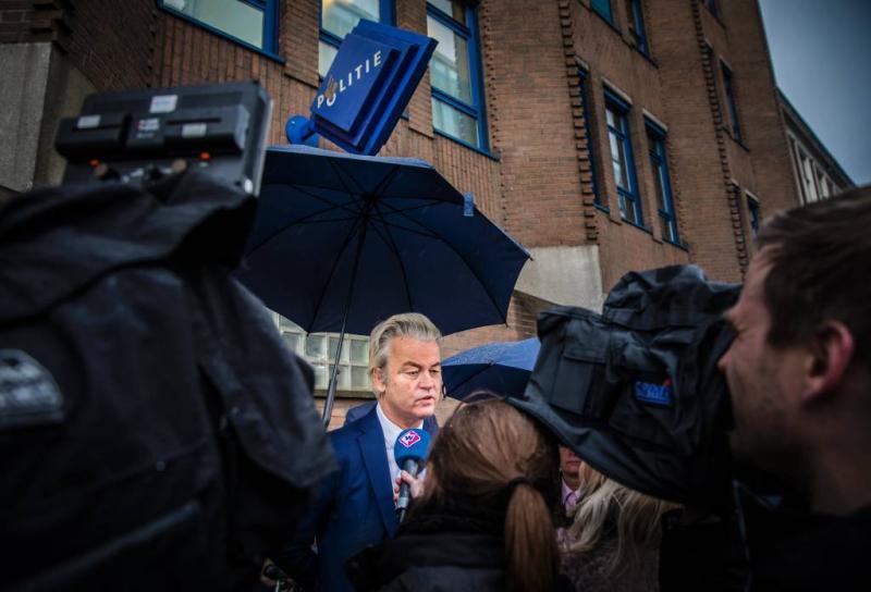 Wilders doet aangifte tegen premier Rutte