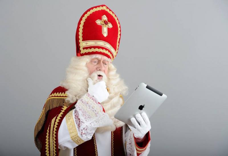 Sinterklaas koopt online in