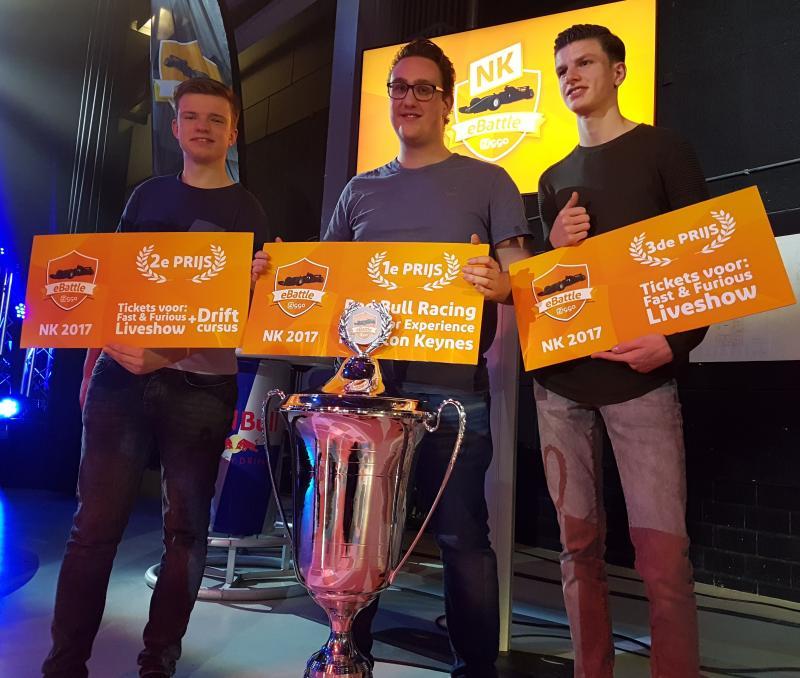 NK Ziggo eBattle F1 - Prijs