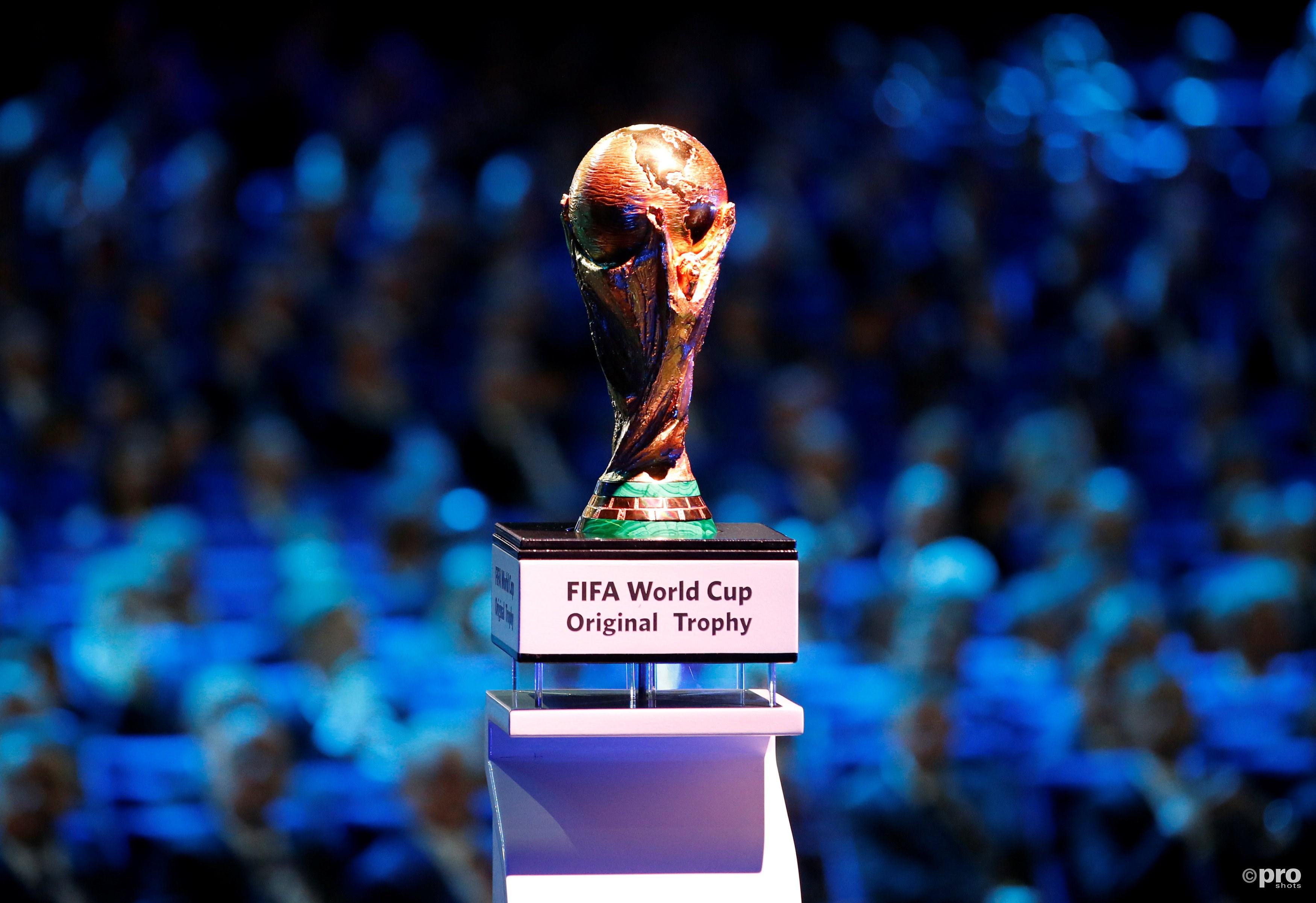 De WK beker, waar weer om gespeeld gaat worden. (PRO SHOTS/Action Images)