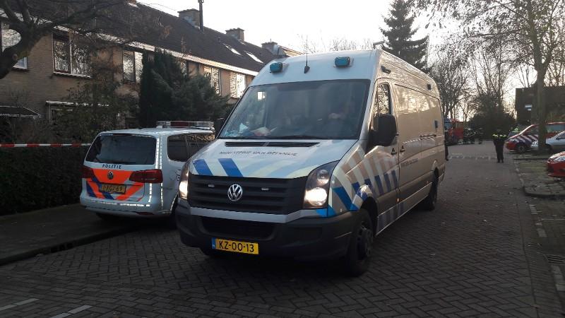 200 kg illegaal vuurwerk in Hoogvliet (foto: politie.nl)