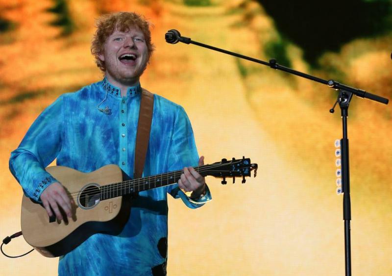 Ed Sheeran en hiphop populair op Spotify