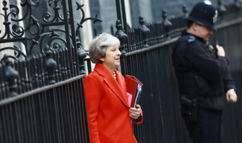 Aanslag op premier May in de kiem gesmoord