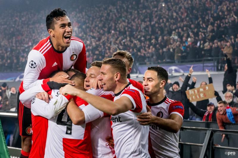 Feyenoord sluit Champions League af met eerste zege (Pro Shots / Kay Int Veen)