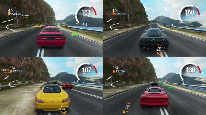 Gear.Club Unlimited - Split Screen x 4