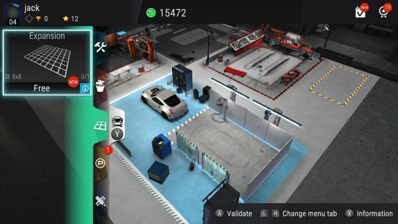 Gear.Club Unlimited - Garage overzicht