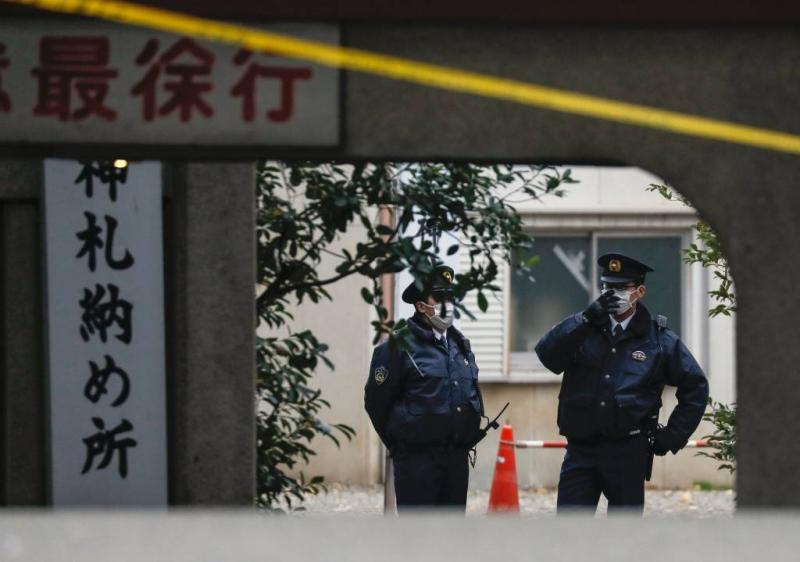 Japanse priesteres gedood met samoeraizwaard