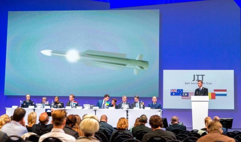 'Stem Russische generaal op MH17-tape'