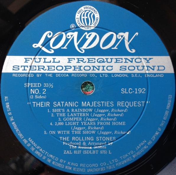 Their Satanic Majesties Request B