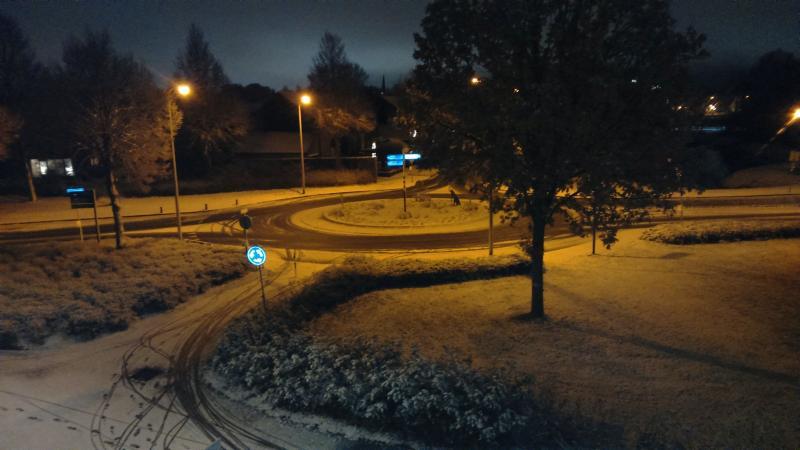 Sneeuw in Borne (Foto: Drizzt_doUrden)
