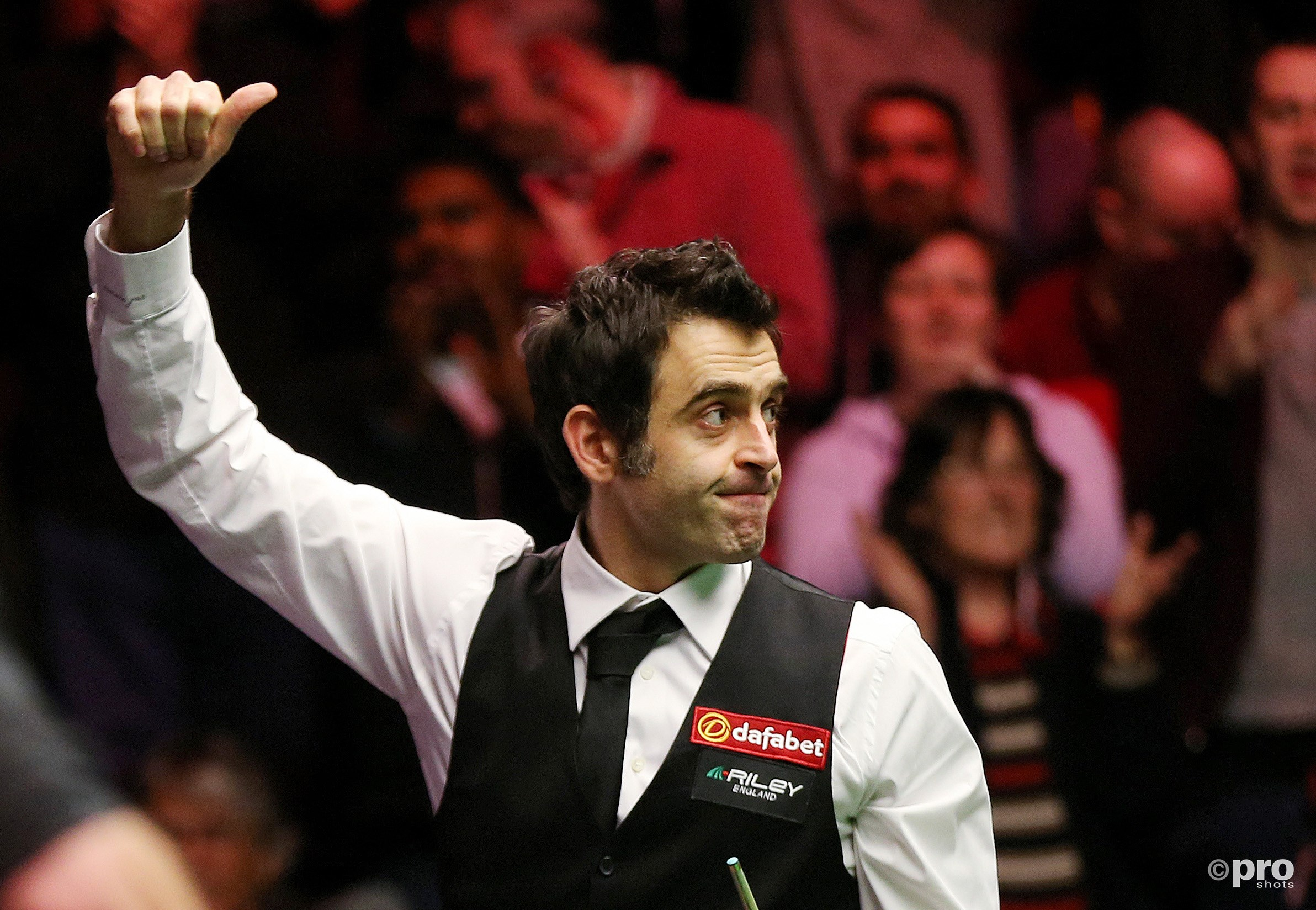 Zesde UK Championship-titel voor Ronnie O'Sullivan (PRO SHOTS/Action Images).