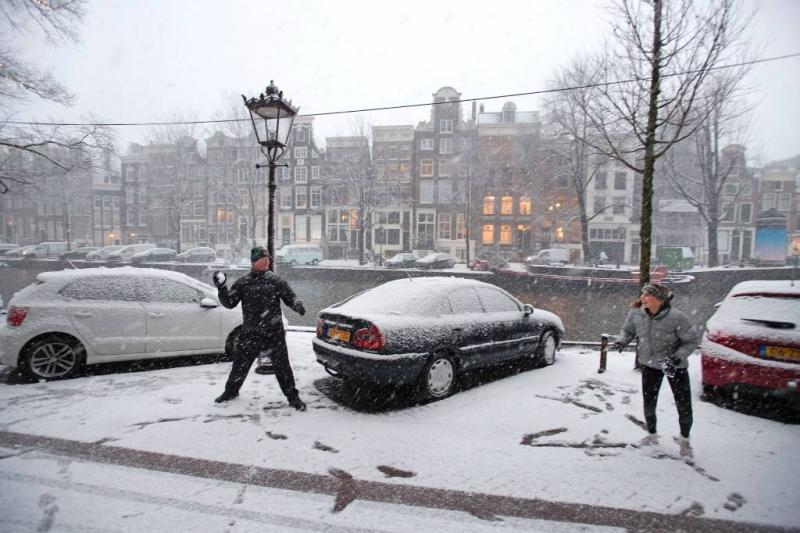 Er viel tot wel 44 centimeter sneeuw
