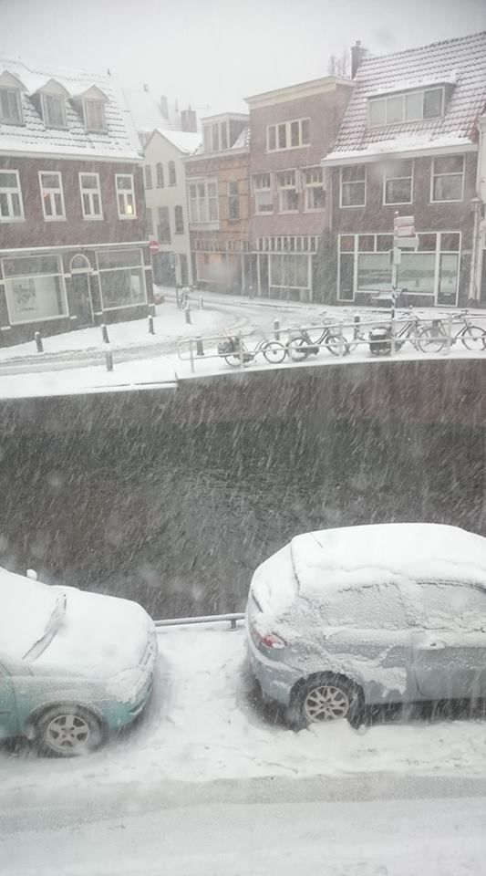 Sneeuw bij Stephan (Foto: Stephan5)