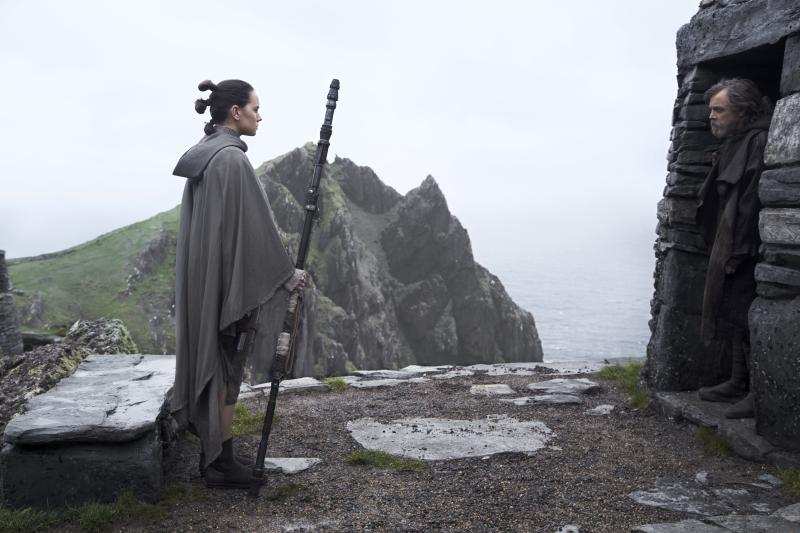 Star Wars: The Last Jedi Luke en Rey