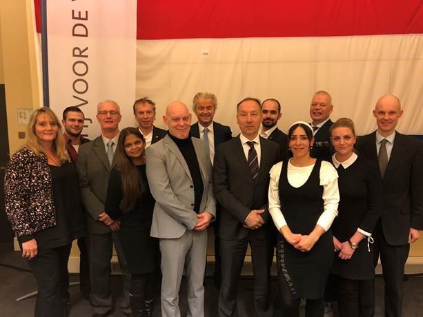 Kandidaten Rotterdam (Foto: PVV)