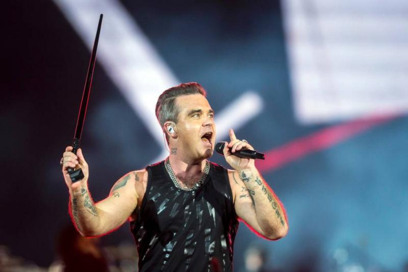 Robbie Williams lag week op intensive care