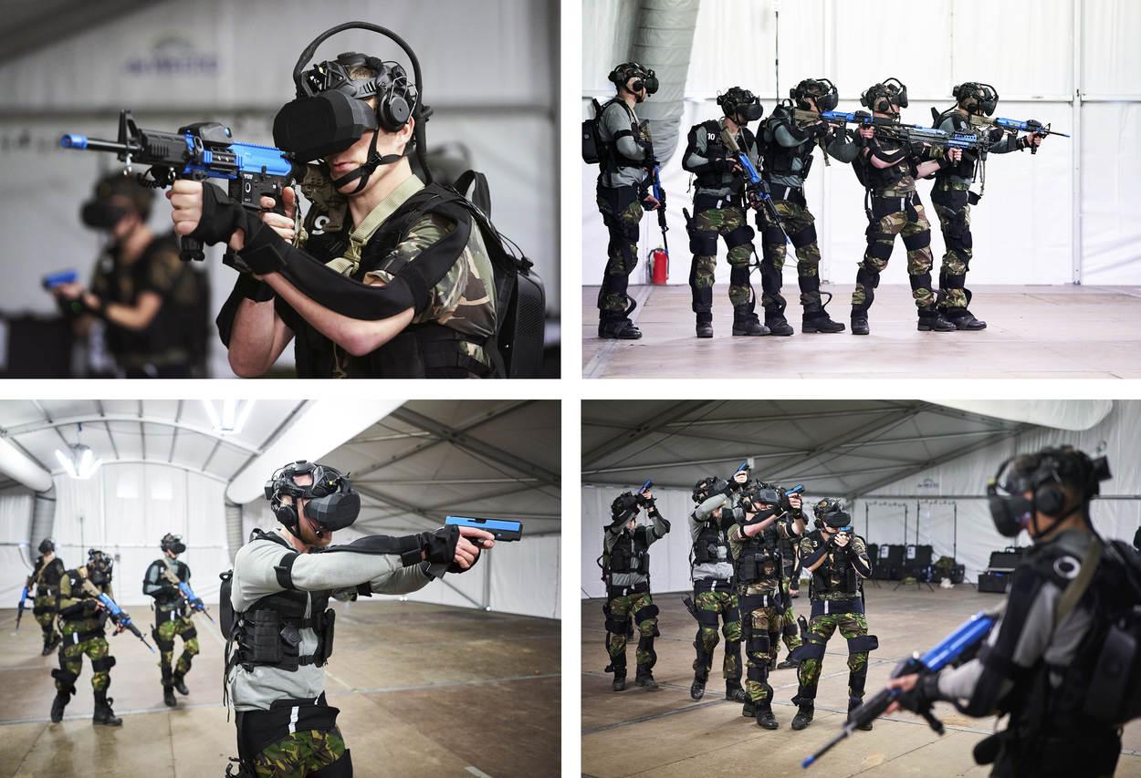 Oefenen met SUIT (Foto: Ministerie van Defensie)