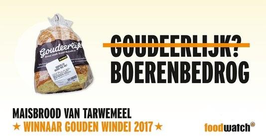 Jumbo wint gouden windei Foodwatch