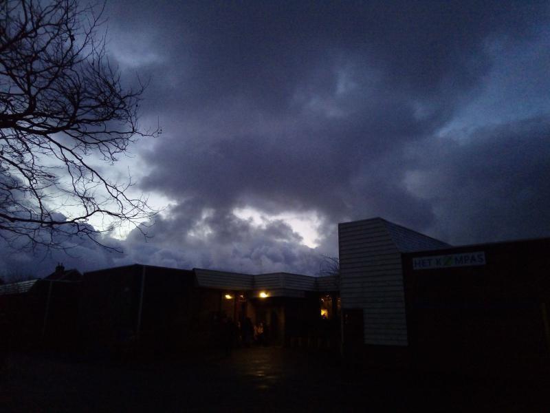 Dreigende wolken (Foto: DJMO)
