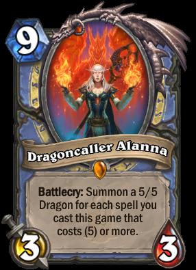 Hearthstone Dragoncaller Alanna