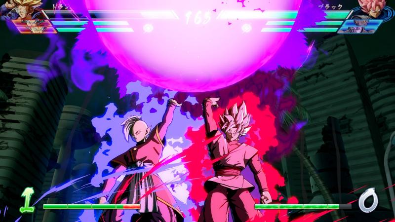 Dragon Ball FighterZ - Goku Black fighting (Foto: Bandai Namco)