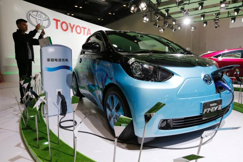 Toyota maakt werk van elektrisch rijden
